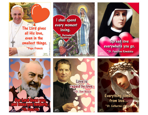 Catholic Valentines Free Printable