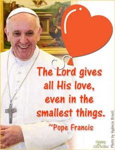 Pope Francis Valentine eCard