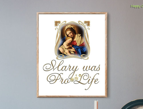 Mary was Pro-Life